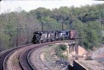 Conrail westbound on the Great Notch horse shoe