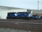 MRL 4302 SD70ACe backing up to MRL 4315
