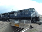 MISSION COMPLETE!!!  I finally photographed MRL 4311 to obtain pictures of all 16 of MRL's SD70ACe's