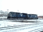 MRL 4302 SD70ACe (New) and MRL 328 SD45 (Old)