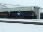 MRL 4300 SD70ACe showing off the hard work