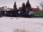 MRL 4310 SD70ACe outside Livingston Depot