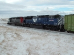 MRL 4304 SD70ACe working its way west with MRL 7555