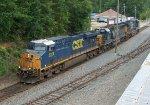 Power for grain train from GFRR