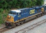 CSX 5208 on grain train from GFRR