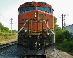 Nose Shot Of BNSF 7649