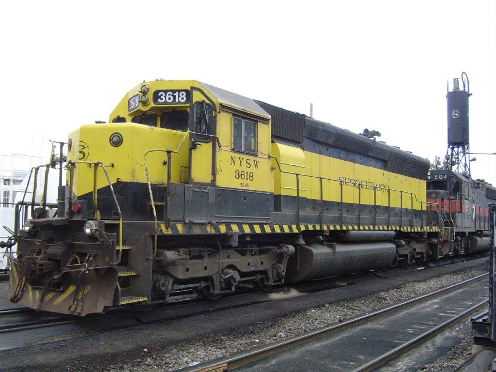 SD45 3618