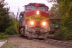 BNSF 4716 leads on Erlanger Hill