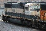 BNSF SD70MAC #9587