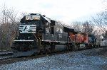 "NS SD70 #2576 on ""Epic"" SP-18"