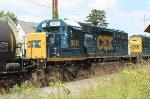 CSX SD40-2 #8815 on WPCA-11