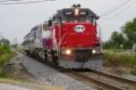 CFE 3887 rolls north