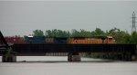 CSX WB Crude Oil Train