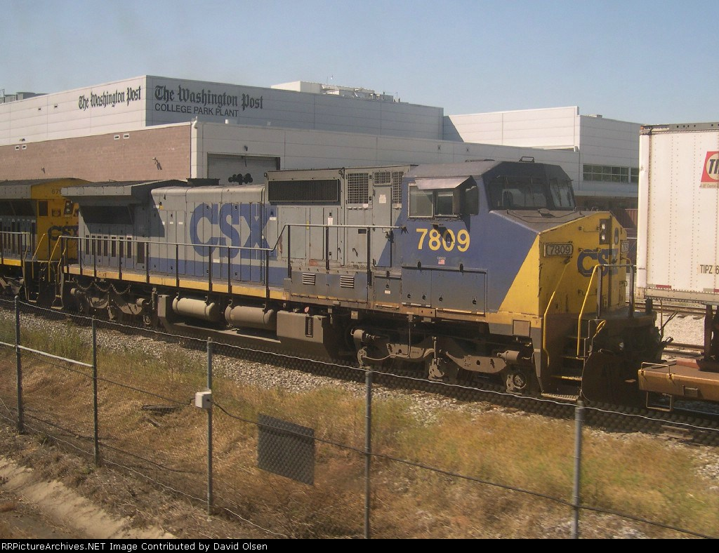 CSX CW40-8 7809