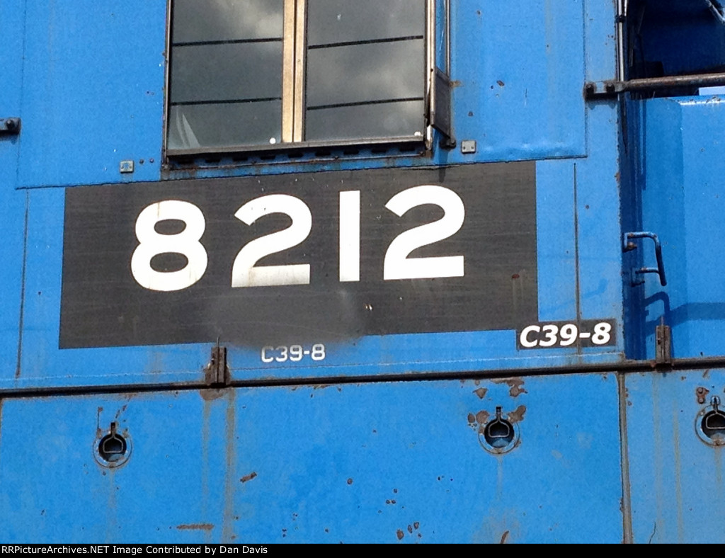 Patch on PN C39-8 8212 ex NS exx CR.
