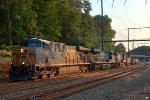 CSX ES40DC 5441 leads Q034-18