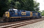 CSX Road Slug (former GP35) trails the 6406 on C770-05