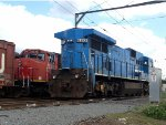 Ex Conrail GE and Ex CN EMD power on PN