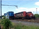 PN C39-8 8212, SD40-2Ws 5315 and 5324
