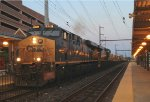 CSX ES44AH 876 leads Q191-15 through the NTC