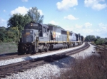 CSX 8623 with a westbound hopper train