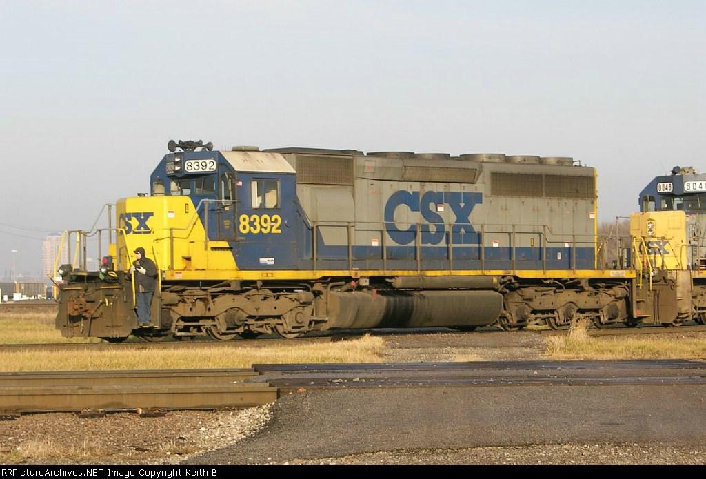 CSX 8392