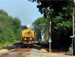 CSXT 7361 leads nb coal mtys