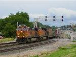 BNSF C44-9W 4586