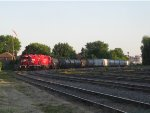 CP 3120 & CP 3024 back their train to CPs Adirondack Sub @ Lasalle, Qc.