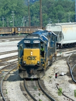 CSX 8519(SD50-2) 2362(ROAD SLUG) 6962(GP40-2)