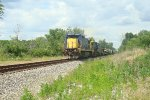 ex CSX 7558,7327,2210,8435 by Hume rd near Cridersville Ohio