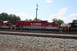 rj corman droping off coal train 2:53 pm