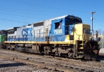 CSX 7556, starting to look a little beat-up,