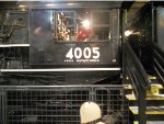 UP 4005 Other Cab Side