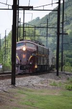 PRR 5711 leading the Susquhanna Limited