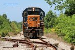 J760 travels down the old TVA steam plant spur