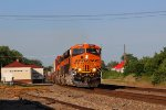 BNSF 6966 heads more stacks wb down the transcon.