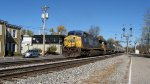 CSX 204 leads J-785 south-bound