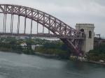 #56 (Vermonter) on the Hell Gate Bridge