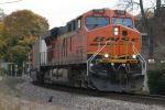 BNSF 7788 leads #I14 through Delaplane