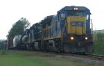 CSX local freight heading for Waycross