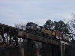 NS 155 on the Congaree River Bridge.
