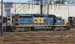CSX SD40-2 #8815
