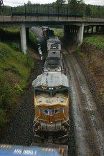 Ducking under I-84