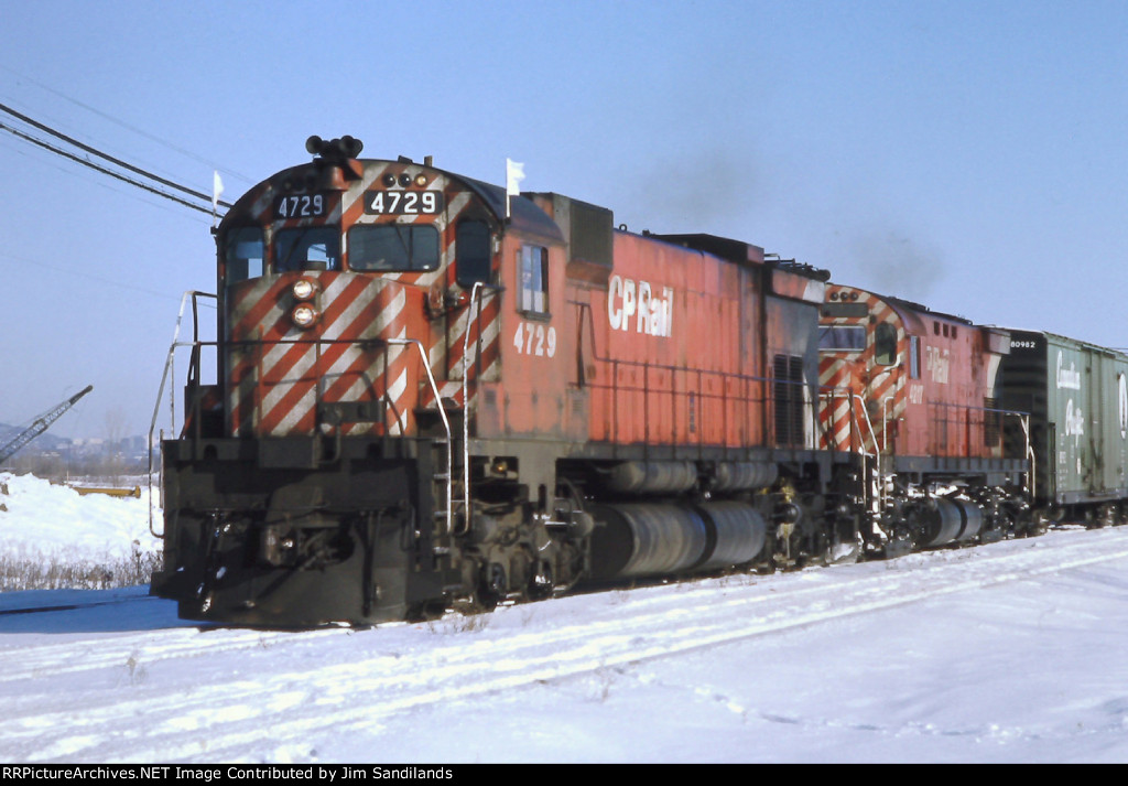 CP 4729 and 4217 at Lachine