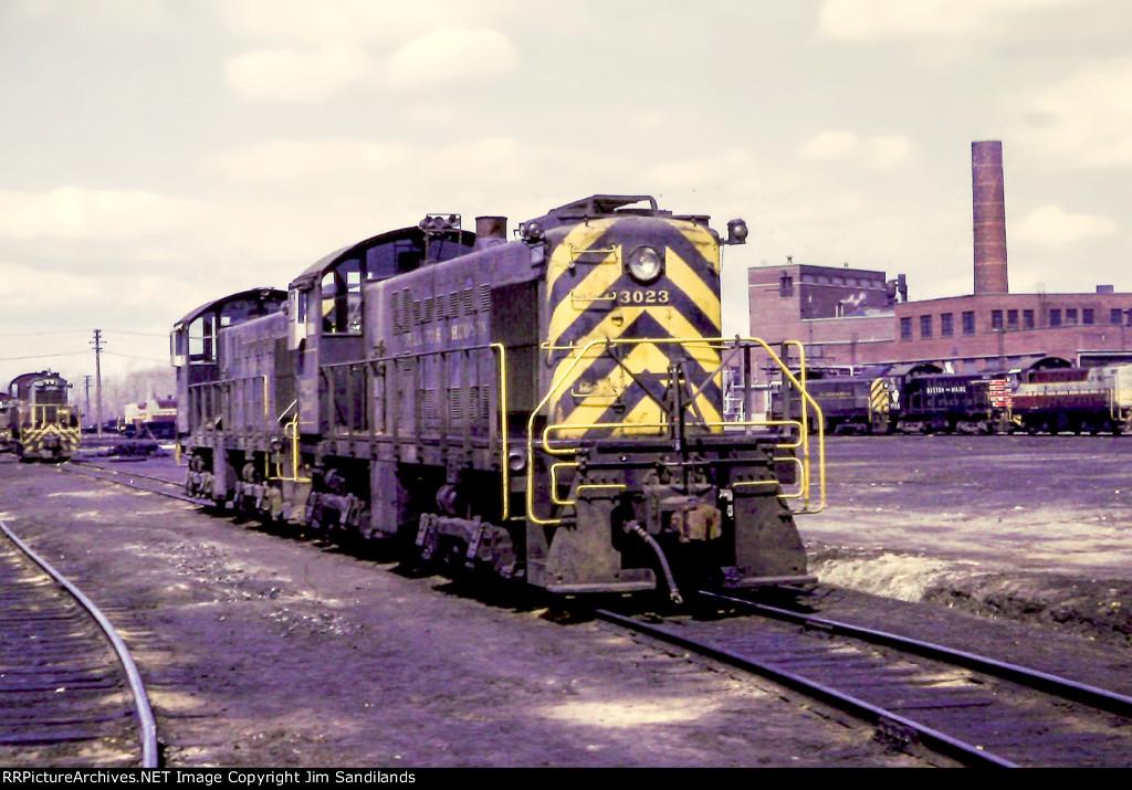 D&H 3023 at St. Luc Yard