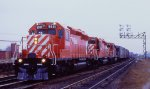 CP 5931, 5932 and 5778  at Dorval