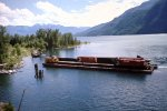 CP Car barge at Rosebery, BC