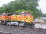 BNSF C44-9W 4676