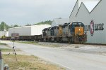 CSX MOW train EB